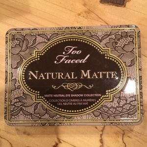 Too Faced Natural Matte Eyeshadow (discontinued)